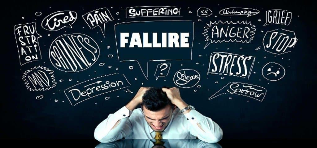 il fallimento esiste solamente nella testa di chi si lascia condizionare