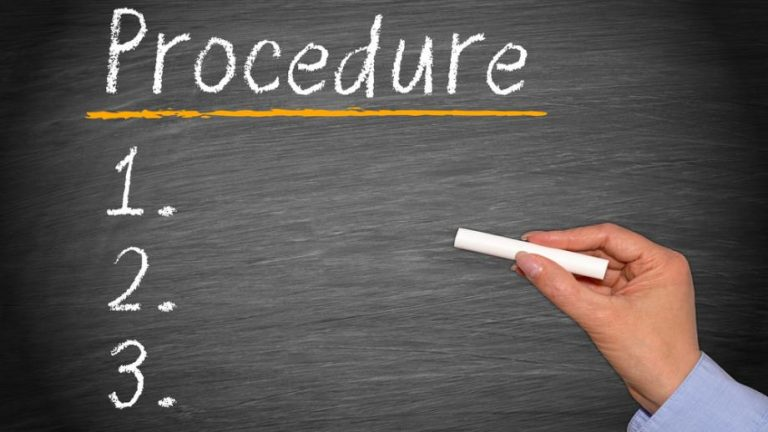 procedure scritte