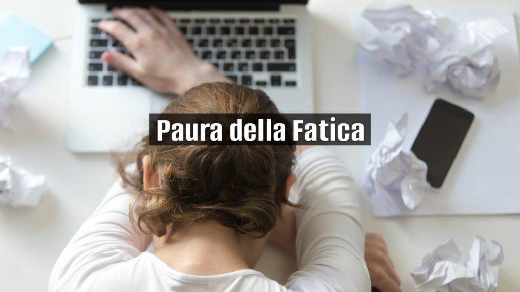 paura della fatica