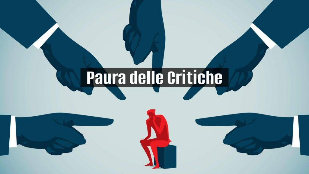 paura delle critiche